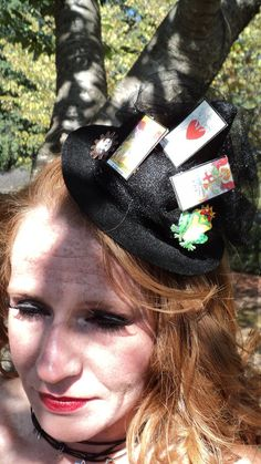 Be Gone Miniature Witch Hat by SoiledDovesMercantil on Etsy, $25.00