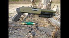 Semi auto riot shotgun !!