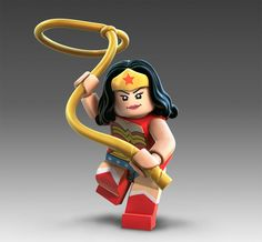 Yes, these do exist. I find myself trying to justify why i NEED a Wonder Woman Lego figure.