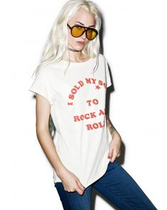 #DollsKill #lookbook #photoshoot #model Sold My Soul #tee #shirt #rocknroll