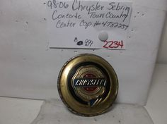Chrysler Sebring Concorde 98-06 wheel center cap  p/n 04782257AA hubcap  2234 #Chrysler