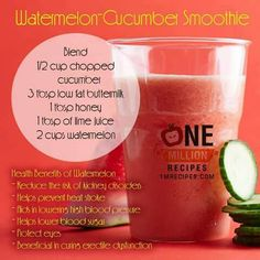Infused smoothie
