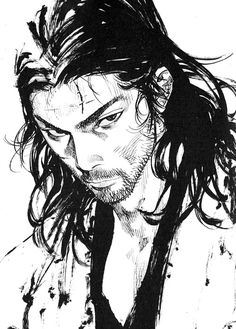 What I really like about Vagabond is that Takezou becomes more self aware as he grows stronger; he actually grows and matures in character.