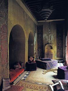 Franca Sozanni, Marrakesh home, from Ivan Terestchenko's book 'Beyond Chic' (The Vendome Press).