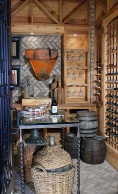 Possible wine cellar design