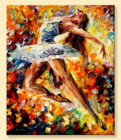 "Elevation — Limited Edition  Print On Canvas By Leonid Afremov.   Size: 30"" X 36"" Inches (75 cm x 90 cm)"