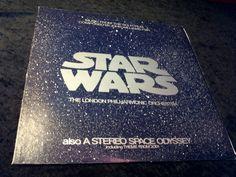 Rare Vintage Star Wars Vinyl Record Album by DecrepitudeAplenty, $30.00