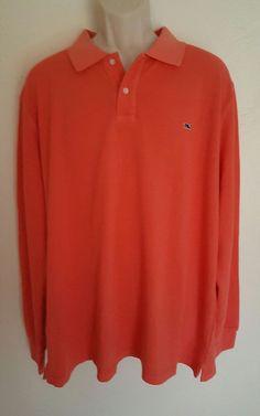 Vineyard Vines Mens Pique Polo Shirt Fruit Punch Sz XXL EUC  | Clothing, Shoes & Accessories, Men's Clothing, Casual Shirts | eBay!