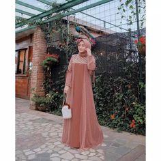 Inspiring Party Dresses with Nisa Cookie Hijab, Present Pastel Themes- Inspiring Party Dresses with Nisa Cookie Hijab, Present Pastel Themes Dress Brukat, Batik Dress, Dress Outfits, Hijab Gown, Hijab Dress Party, Party Dresses, Batik Fashion, Abaya Fashion, Muslimah Wedding Dress