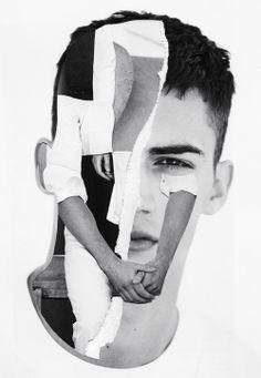Pablo Thecuadro Mixed Media Collage - Artist
