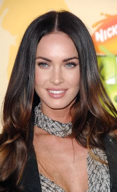 Megan Fox's makeup on Nickelodeon's 22nd Annual Kids' Choice Awards