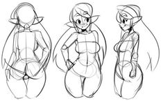 """Reference drawing's not going great, but for those interested, here's how a normal body structure of mine looks. Body Reference Drawing, Drawing Body Poses, Art Reference Poses, Body Sketches, Drawing Sketches, Manga Drawing, Art Drawings, Drawing Art, Anatomy Drawing"