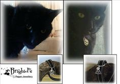 Hey, I found this really awesome Etsy listing at https://www.etsy.com/listing/190008324/cat-collar-charm-triquetra-or-pentagram