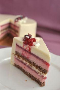 Черемуховый торт с красной смородиной - Торты - Галерея - Кулинарный форум Niksya