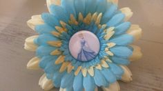 Cinderella flower clip
