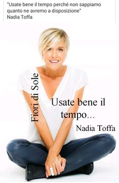 Nadia Toffa Improve Yourself, Positivity, Thoughts, Quotes, Life, Inspiration, Frases, Exercises, People