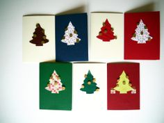 Weihnachtskarte mit Baum (c) Carola Peters