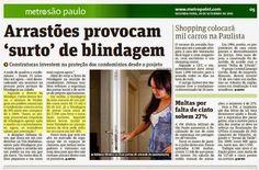 SISTEMAS DE BLINDAGEM - PROTEÇÃO URBANA: INVESTIMENTO DE CONSTRUTORAS EM BLINDAGEM ARQUITET...