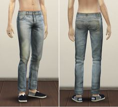 Rusty Nail: Jeans SL2 • Sims 4 Downloads