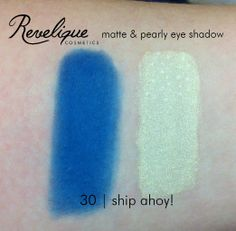 Revelique matte & pearly eye shadow 30 ship ahoy #eyeshadow #matte #pearly #shipahoy