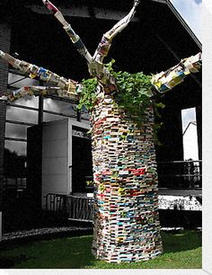 A tree of books teachingliteracy:      'The Cultivated Tree…' by Cyril Marchand
