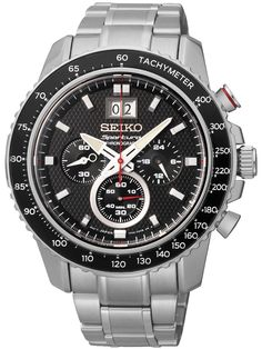 Sportura SPC137P1 Chronograph Großdatum 100M 45mm von Seiko