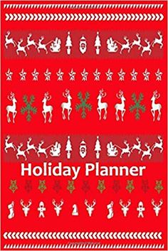 Holiday Planner: A 6x9 Christmas Notebook/ Journal with 100 detailed pages to plan, organize and log your holiday season: Linda, Suana Berg: 9781699948507: Amazon.com: Books