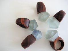 Earthy Rings (Made by nga waiata, found via Daily Imprint)