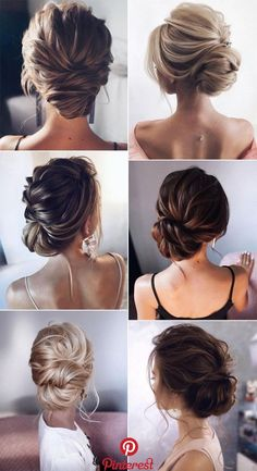 26 Gorgeous Updo Wedding Hairstyles from tonyastylist - Page 2 of 2 , . - 26 Gorgeous Updo Wedding Hairstyles from tonyastylist – Page 2 of 2 Check more at beauty. Bridal Hair Updo, Wedding Hair And Makeup, Hair Makeup, Chignon Updo Wedding, Wedding Hair For Short Hair, Short Hair Prom Updos, Bridal Makeup, Short Hair Wedding Updo, Hair Styles For Wedding