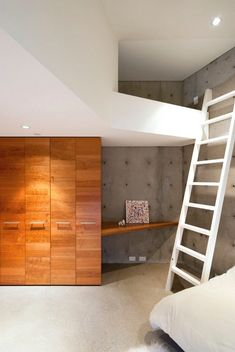 11 Kids Only Hideouts That Even The Biggest Grownups Would Be Jealous Of // Climb up and away from the world below in this loft space tucked away in the corner.