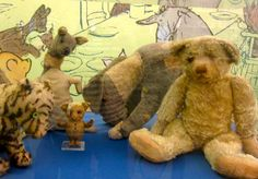 Pilgrimage 2 c original #Pooh & friends at #NY Public Library sparks #journey by #classic #book #illustration http://www.gold-boat.com/classic-illustrations-for-travelers/