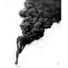 Up My Alley ❤ liked on Polyvore featuring backgrounds, smoke, black and white and filler
