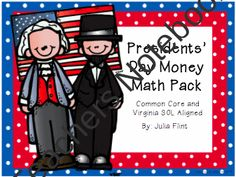 25% OFF PRESIDENT'S DAY SALE!!! Presidents day MONEY MATH