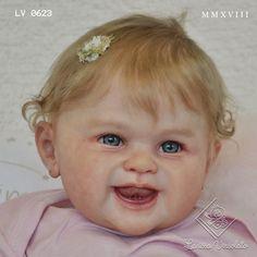 Reborn Baby Dolls by Larissa Versolato Reborn Baby Girl, Reborn Baby Dolls, Baby Doll Nursery, Kit, Sweet, Modern, Artist, Baby Mold, Handmade Crafts