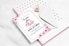 Tea party invitation perfect for a birthday party, baby shower or bridal shower. This Is Us, Names, Tea, Teas