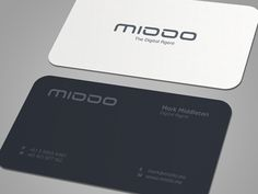 Very minimal business card designed for Mark Middleton an online entrepreneur and Digital Specialist.  Full corporate identity is coming into your screens tomorrow ;)  LARGE VIEW HERE