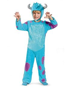 Monsters University Sulley Classic Toddler Costume - Spirithalloween.com