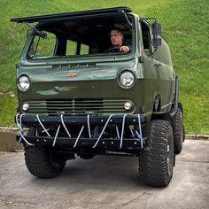 """""""Chevy Off-road Van. #ChevyVan #Offroad #Van #CustomVan #Chevy #Chevrolet #LMCTruck #lmctrucklife"""""""