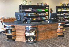 liquor store counter design