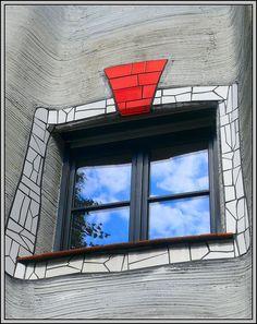 Hundertwasser - Waldspirale Darmstadt, Germany by Mo Westein1