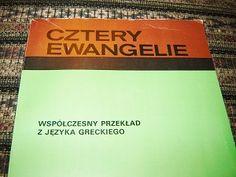 The Four Gospels in Polish with illustrations / Cztery Ewangelie Wspolczesny przeklad z jezyka greckiego / Ewangelia Mateusza, Marka, Lukasza, Jana