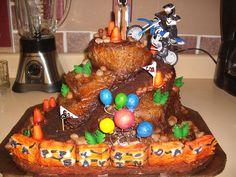 Dirt bike cake I've made
