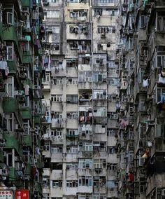 facades of Hong Kong. Miss them mucho!
