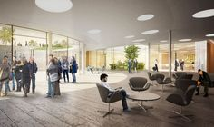 Citizen and Media Centre Winning Proposal / Henning Larsen Architects