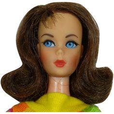 Vintage Brunette Marlo Flip Twist & Turn Barbie Doll Vintage Barbie Dolls