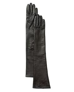 Bloomingdale's 12 Button–Length Long Leather Gloves | Bloomingdale's