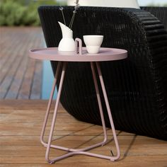 Cane-line On-The-Move table, small, lavender | Outdoor furniture | Outdoor | Finnish Design Shop