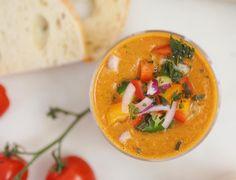 Gazpacho, Thai Red Curry, Tasty, Vegan, Fresh, Ethnic Recipes, Food, Meal, Essen