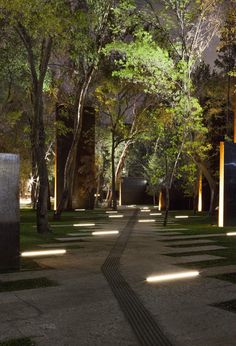 // Memorial to the Victims of Violence in Mexico by Gaeta Springall Architects. Photo: Sandra Pereznieto