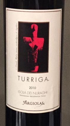 """A #pranzo un grande #vino mediterraneo: """"Turriga"""" 2010 by @ArgiolasWinery simbolo #enoico della #Sardegna e non solo"""